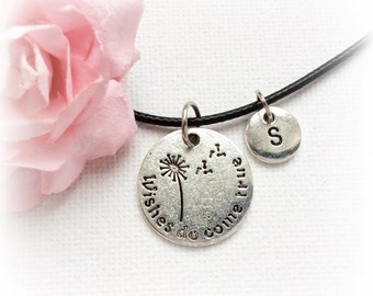 Wish Necklace, dandelion necklace, dandelion Jewellery, wish Charm Jewelry,Personalised jewelry, , handmade necklace, christmas gift