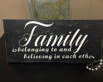 Family is belonging