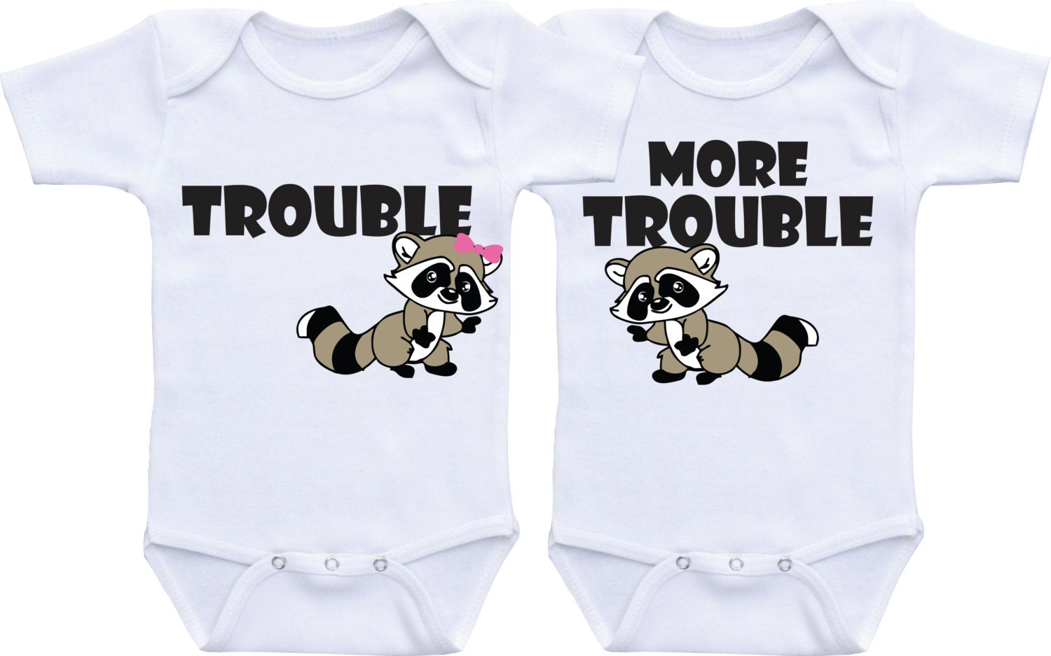 Twin Outfits Twin Onesies Gifts For Twins Boy Girl Twins Baby Gifts