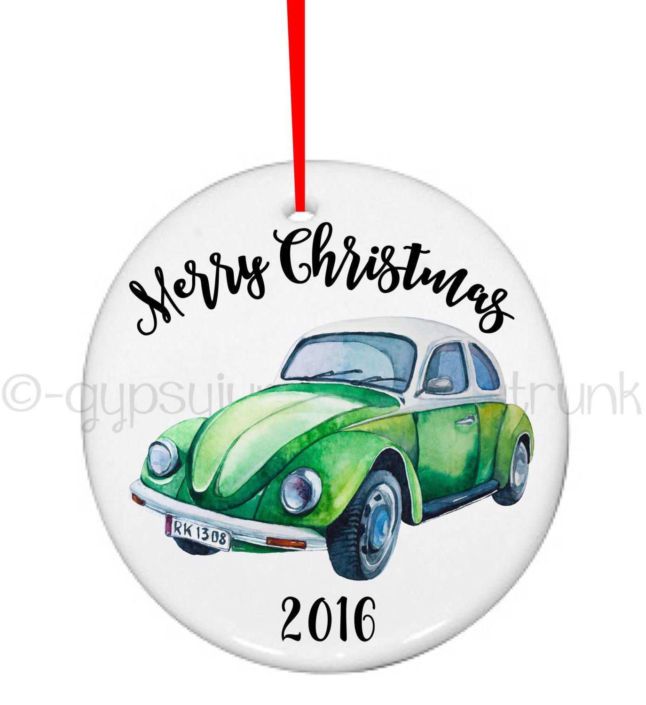 Christmas ornament hippie funny