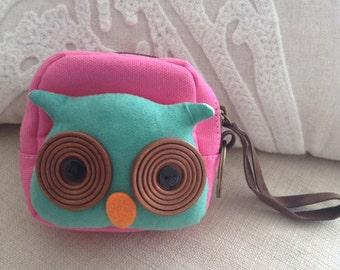 Scholarly Owl Coin Purse