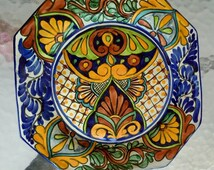 Unique Talavera Plate Related Items Etsy