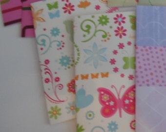 Plastic Passport Cover, Flowers and Butterflies, Passport  Sleeve, Case, Holder