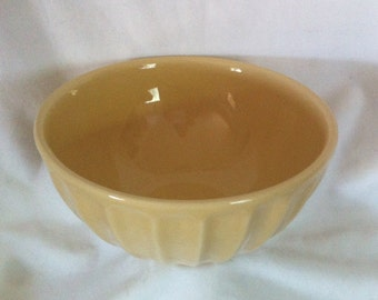 Primogera Vintage Ceramic Bowl Portugal - Yellow