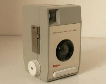REDUCED Vintage Kodak Brownie Vecta - Designer 1960's Camera - With Neck Strap