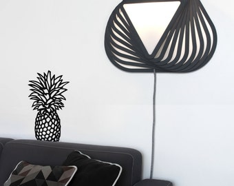 Wall light TWIK M - Design wood