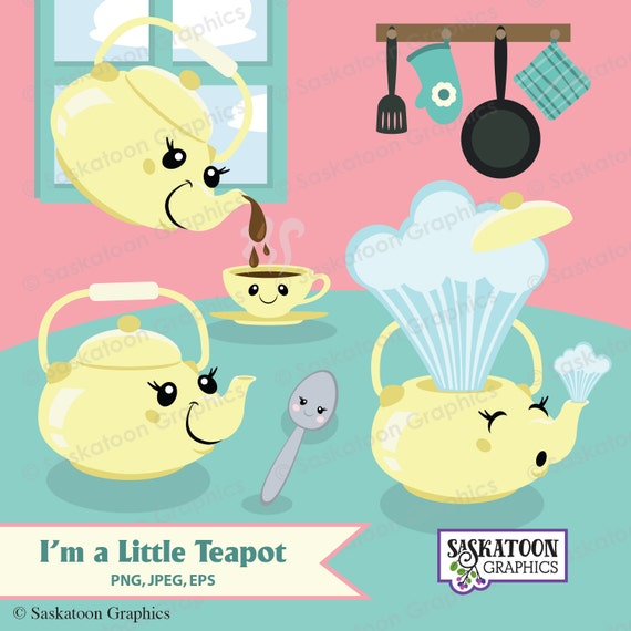 im a little teapot cartoon - photo #15