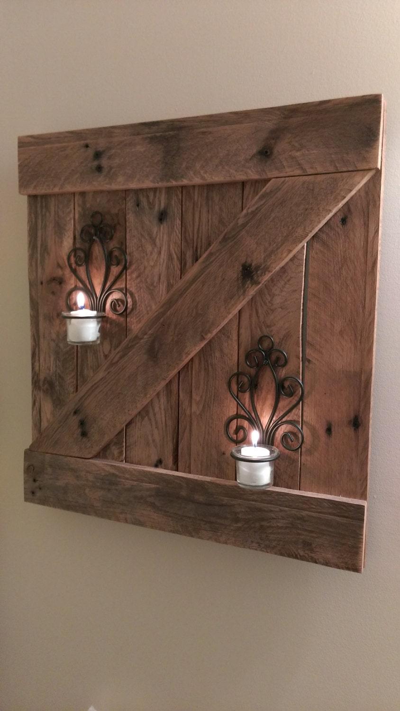 beautiful reclaimed wood wall hanging 18