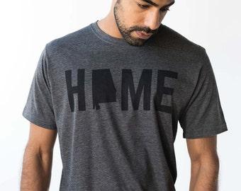 T-Shirt - Alabama HOME Men's T-Shirt Tee