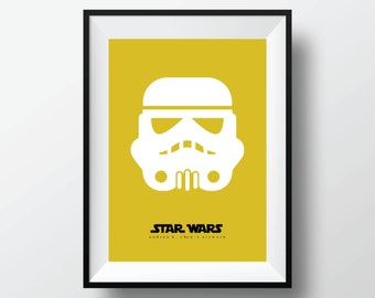 Star Wars Stormtrooper Printable Art (2 different sizes)