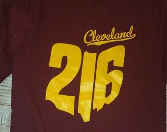 216 State Outline Crewneck sweatshirt