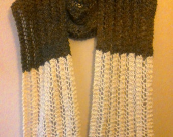 Extra long, cozy scarf