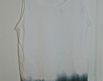 Tie Dye acid wash vest top sleeveless T shirt hipster festival grunge Retro galaxy men  women ndie dip dye indie skate rave tank top