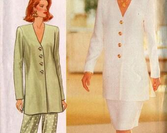VINTAGE UNCUT Butterick 3243 Misses tunic, Skirt & Pants Size 12-14-16