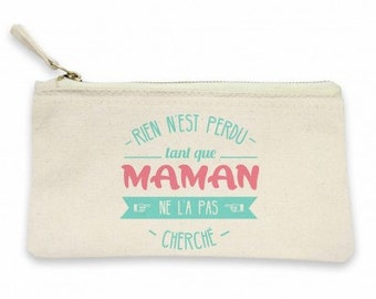 "Pocket ""nothing is lost""! Pouch for women, gift MOM, mother gift, pouch for mother, MOM, pouch makeup bag"
