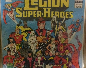 DC Comics Legion of Super-Heroes 300 Anniversary Issue