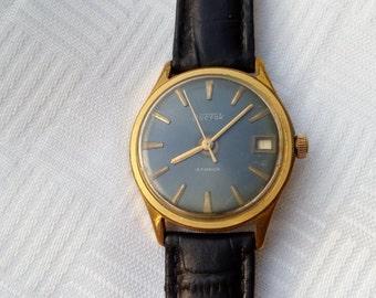 Vostok, Au, vostok watch, rare soviet watch, ussr watch, gold plated watch