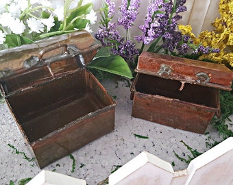 Miniature Treasure Chests - Set of 2
