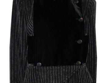 Shouldered jacket COURRÈGES Paris velvet touch size C or a 42 model 27048