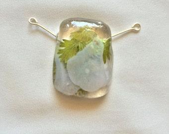 Cilantro Leaf Pendant