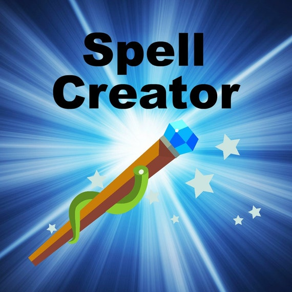 how to create your own spell