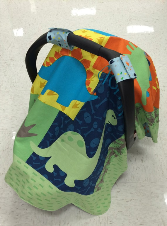 dinosaur baby car seat canopy car seat not by sillybirdies on etsy. Black Bedroom Furniture Sets. Home Design Ideas
