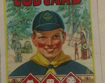 1938 Vintage Cub Scout membership card