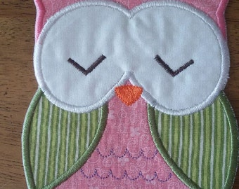 Iron On Applique Owl