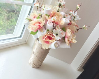 Flower Diaper Bouquet