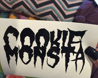 Cookie Monsta Vinyl Decal