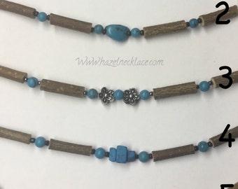 Hazelwood necklace turquoise gemstone