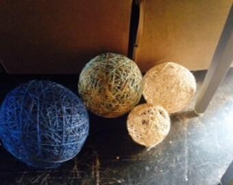 Twine balls