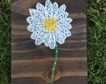 MADE TO ORDER Mini Daisy String Art Board