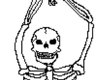 PATTERN: Dancing Queen Skeleton Original Design!