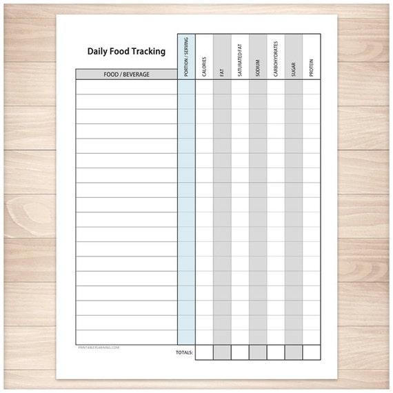 glucose tracking sheet