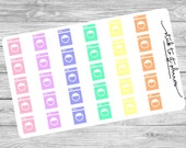 Planner Stickers, Life Planner Sticker, Erin Condren, Planner Accessory, Washing Machine Stickers, Laundry Stickers