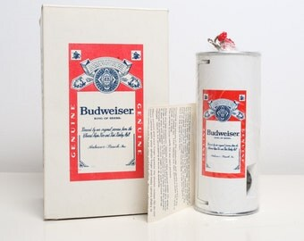 Vintage Budweiser can camera