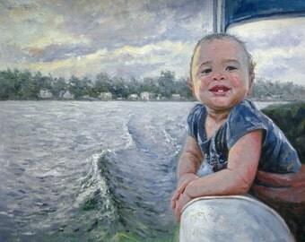 Child Oil Painting. Child Oil Portrait. Kid Oil Painting. Portrait Kids. Newborn Portait. Baby Gift Custom Art. Child Portrait from Photo