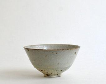Rice bowl 5.5in (Ash glaze) / Koji Kitaoka (15005711-LK)