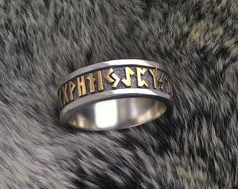 Viking rune.Runes.Futhark.Viking runes.Rune ring.Elder futhark.Asatru.Nordic.Runes and meanings.Rune ring.Vikings.Rune jewelry.Viking.Runic.