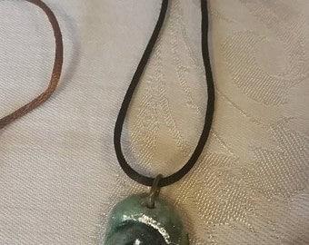 Ceramic Ammonite Necklace