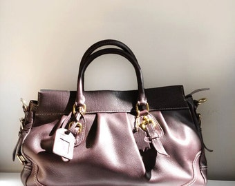 Genuine Leather Women Handbag/Shoulder Bag/Brown Bag