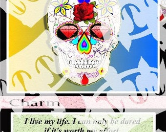 Tequila Skulls KingMaker Card 750X1050X300ppi