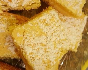 Lemon Bars (One Dozen)
