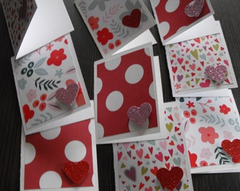 Handmade Cards, Valentines Day Cards, Gift Cards, Greeting Cards