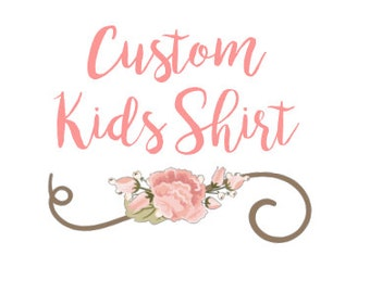 Custom Kids Shirt