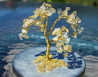 Citrine Wire Tree