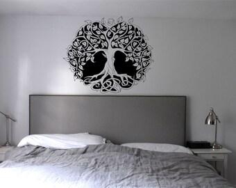 Tree Of Life Wall Art Vinyl Decal Sticker Bedroom