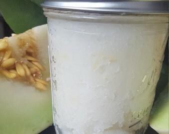 Honeydew Melon Sugar Scrub 8 oz - FREE shipping!