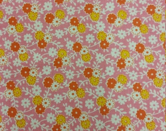 PINK REPRODUCTION FABRIC